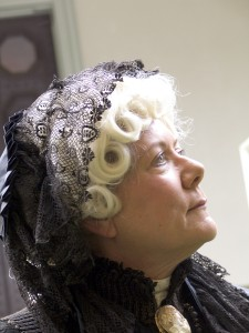 Sally Roesch Wagner as Elizabeth Cady Stanton