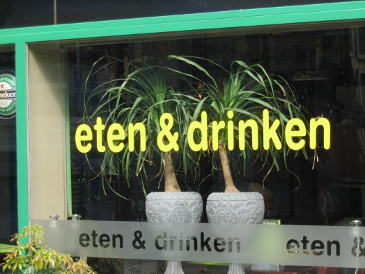 Take an English word, add EN at the end, and bang! - You're talking Dutch.