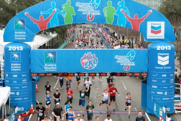 2013 Chevron Houston Marathon
