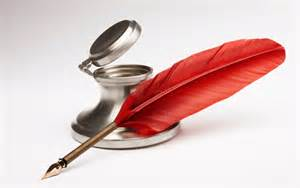 red quill ink